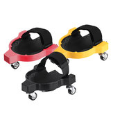 Rolling Wheels Knee Pad Mobile Flexible Work Construction Safety Protection