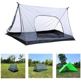 1-2 Peoole Mesh Camping Tent Lightweight Camping Mosquito Net Breathable Insect Reject Tent Outdoor Travel