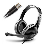 EDIFIER K800 Desktop Gaming Headset Wired Stereo Headphone for Cellphone Computer With Mic