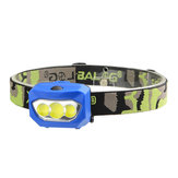 XANES® BL-933 600LM 3xCOB LED 2 Modes Bicycle Head Light Waterproof Headlamp