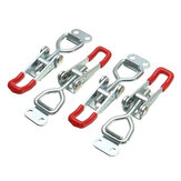 4Pcs Toggle Galvanized Iron Latch Catches Hasp for Case Box Chest Trunk