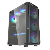 DarkFlash Aquarius Mesh Gaming Computer Case هيكل ATX / M-ATX / ITX أكريليك