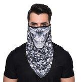 Séchage rapide respirant masque facial d'équitation crâne mode coupe-vent coupe-vent extérieur multifonction triangle écharpe