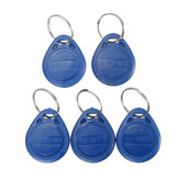 5Pcs ID keyfobs RFID Tag Key Ring Card 125KHZ Proximity Token Контроль доступа Участники TK4100