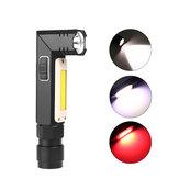 XANES3189AXPG+COBLED White Light + Red White 5Modalitàs USB Worklight ricaricabile Outdoor campeggio Emergency LED Work Light