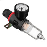 Airbrush Compressor Air Pressure Regulor Calibre Water Trap Umidade Filtro Mangueira