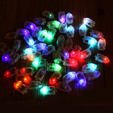 50Pcs / Lot LED Lambalar Balon Kağıt Fenerleri Işığı Balon Çok Renkli Noel Partisi Dekoru