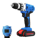 36V Electric Drill Cordless Power Screwdriver 18+1 Torque W/ 1 or 2 Li-ion Battery Power Tools Kit
