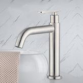 Robinet de lavabo de salle de bain Mitigeur de lavabo monotrou en laiton massif sans plomb