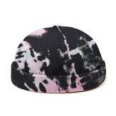Banggood Tasarım Erkekler Kontrast Rengi Desen Günlük Beanie Ev Sahibi Şapkası Kafa Tası Şapka