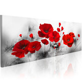 Abstract Flowers Canvas Painting Wall Decorative Printing Art Picture Frameless Home Office Decoration