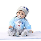 NPK DOLL 22 '' Reborn Silicona muñecas realistas hechas a mano del bebé juguete realista recién nacido