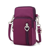 Women Nylon Water Resistant Crossbody Bag