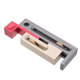 HONGDUI Table Saw Slot Adjuster Tanggam dan Alat Duri Woodworking Movable Measuring Block