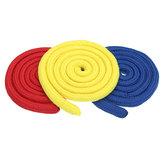 Cordas de ligação de três cordas Vermelho e amarelo e azul Cor Truque de magia Acessórios de desempenho Acessórios para props