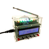 DIY Radio Electronic Kit Parts 51 Single-chip FM Digital Sound Machine