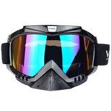 Motocross Outdoor Sportschutz Skifahren Motorrad Helm Brille Staubdicht