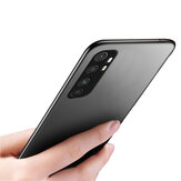 Bakeey Pure Silky Smooth Shockproof Ultra-thin Soft TPU Protective Case Back Cover for Xiaomi Mi Note 10 Lite