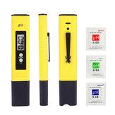 LIUMY Digital PH Meter 0.01 Test de qualité de l'eau en pH pour culture hydroponique des piscines domestiques