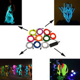1M 10 kleuren 12V Flexible Neon EL Wire Light Dance Party Decor Light