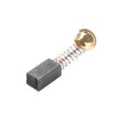 100 قطع 7x8x12 ملليمتر أحادية توقف الذاتي القوة أداة الكربون فرشاة 21 # استبدال لشركة هيتاشي 100 زاوية المطحنة