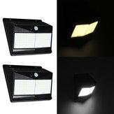 100 LED Солнечная Motion Датчик Light На открытом воздухе 1000lm Водонепроницаемы Настенный светильник Night Light