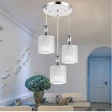 Modern Çiçek Petal Tavan Işık LED Kolye Lamba Yemek Avize Odası Dekoru