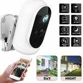 WiFi 1080P HD Câmera de segurança doméstica Câmera externa sem fio de visão noturna