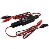 Высокое качество Авто USB-тестер Напряжение Текущая емкость Батарея Тестер Мониторинг Крокодил Провод Аллигаторные клипы