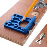Cerniera 35mm Maschera ABS Cerniera in plastica Installazione Guida per trapano a legno Cerniera per fori Alesatura per mobili per porte Utensili per carpenteria
