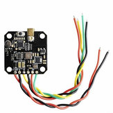 AKK FX3-ultimat 5.8G 40CH 25/200/400 / 600mW Interruptor de audio inteligente conmutable FPV OSD de soporte