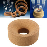 80*30*30mm Cork Mat Lab Stand Ring Round Bottom For 50ml-250ml Flask Glass Experimental Apparatus