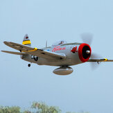 Dynam P47-D Thunderbolt 1220mm Envergadura EPO Warbird RC Airplane PNP