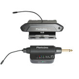Flatsons FP-1W Multi-functional Acoustic Guitar Pickup Sound Hole Pickup with Volume/Bass/Middle/Treble Controls Phase Switch