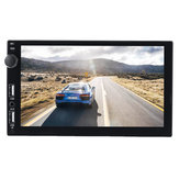 7 Inch Double Usb Port 2.1A Fast Charge Double Spindle Car MP5 Player Display Reversing Camera