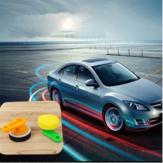 Esponja de limpeza de cera de carro delicado Soft ferramentas de manutenção de carro de cabo redondo de plástico waxer