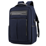 18 Inch Backpack USB Charging Laptop Bag Mens Shoulder Bag Business Casual Travel Schoolbag B00121C