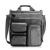 Men Large Capacity Crossbody Bag Multi-functional Business Laptop Tablet Handbag