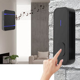 Waterproof LED 55 Songs Chime Wireless Doorbell Receiver & Transmitter