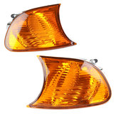 Front Parking Side Corner Light Cover Amber Shell Left/Right for BMW E46 3 Series M3