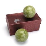 Chiński Zdrowie Ćwiczenia Stres Jade Kamień BAODING Terapia Relaksacyjna Kulki 48mm