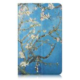 Apricot Flower Painting Tablet Case for 8 Inch Mipad 4