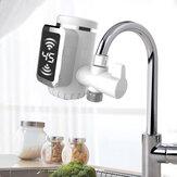 3000 W Ücretsiz kurulum Elektrikli Su Isıtıcıları Mutfak Soğuk / Sıcak Su Musluk Sıcaklığı Ile LED Su Isıtıcı Dönebilen Ekran