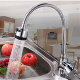 KCASA Küchenarmatur aus massivem Messing Zughahn Flexible Hot Cold Taps Wasser Outlet