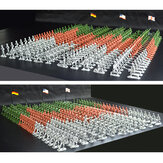 300 PCS Military Soldier Static Diecast Model Decoration Toy Set for Kids Gift