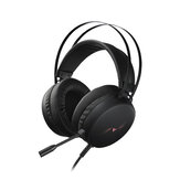 Rapoo VH310 Game Headset 7.1 Virtual Surround Channel RGB Gaming Headphones ENC Noise Reduction Microphone 50MM