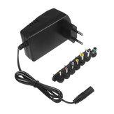 Remote YC-688 EU 110-240V 30W 3 / 4.5 / 6 / 7.5 / 9/12 / 15V Power Adapter Supply dengan 6 Plug