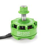 Racerstar 2305 BR2305S Green Edition 2400KV 2-5S Brushless Motor For X210 X220 250 300 RC Drone FPV Racing
