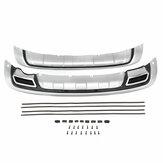 Il paraurti anteriore e posteriore in ABS protegge la protezione della scheda di protezione per KIA Sportage R 2010-2014