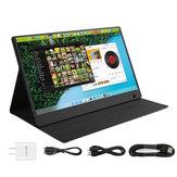 WIMAXIT 1560CT 15.6 Pollici 1080P HD 16: 9 Touch Screen Mini TV portatile Schermo Display